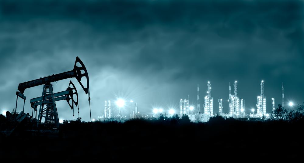 Remote oil rig