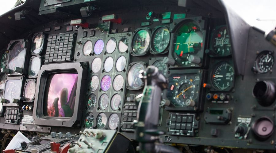 Technological advancements in aviation have paved the way for night vision technology.