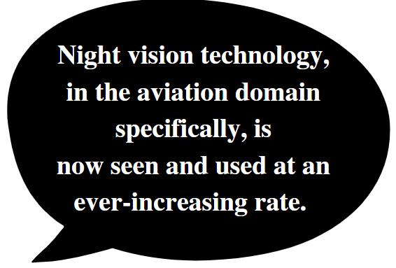 Aviation nvg usage is increasing.